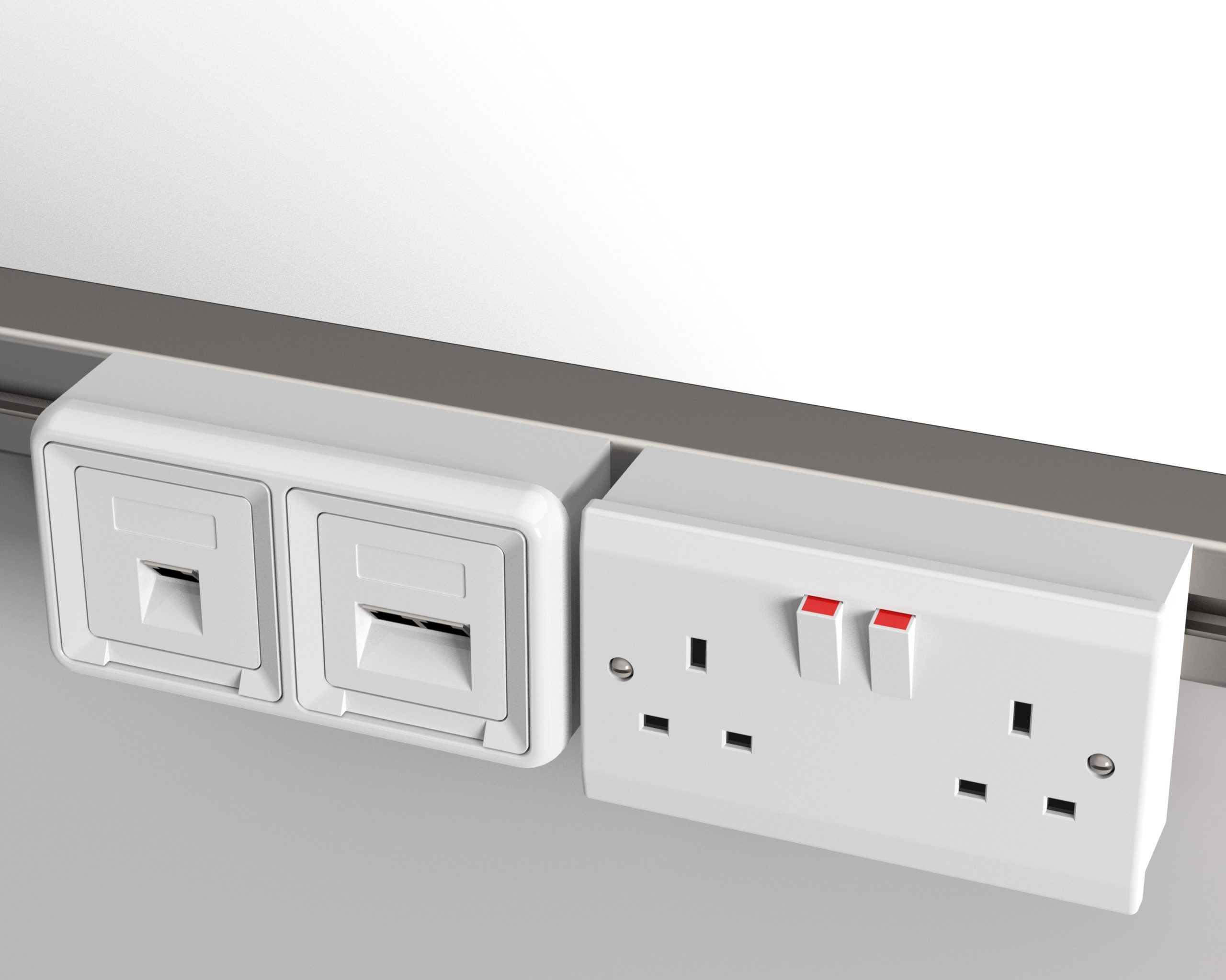Plug Sockets  Ethernet Port - (Final electrical installation to be carried out by customer)
