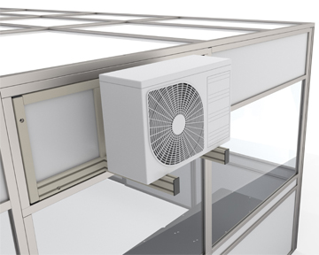 Air Conditioning Unit - Various temperature control options available